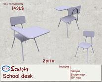 *~M`n B~* School desk (box)