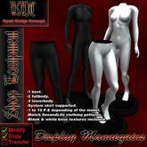 KDC Display Mannequin pack