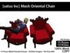 [satus Inc] Mesh Oriental Chair
