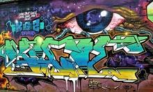 4 Grafitti Texturen Pack for Wall, Background, Home, Design - TOP GRAFITTI PACK Nr.1