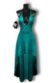 Chrysalis - Diva mesh dress - turquoise