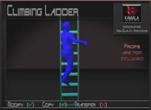 Kids Child SL  *Climbing Ladder* Copyable Poseball