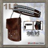 edge grafica / 26 studs-belt(with scissor case)