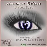 Eclipse Eyes - Amethyst - Prim & Standard Eyes included