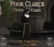 DM Poor Clares Nuns Habit