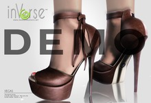 inVerse™ - Vegas Heels 100%mesh NO RIG 5 colors DEMO 1.1