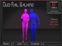 Kids Pregnancy  *Pregnant Duo Rail Walking* Copyable Poseballs