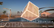 Botha Cube Fountain