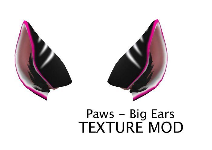 [Imp] Paws Big Ears Pink White Black Texture Mod