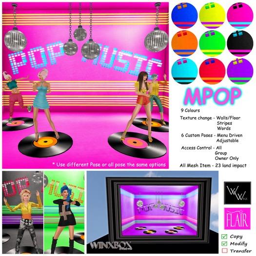 W. Winx & Flair - WinxBox - MPop