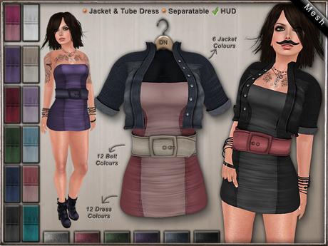DN Mesh: Jacket & Dress w HUD