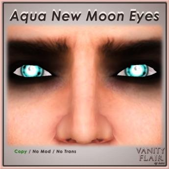 Aqua New Moon Eyes