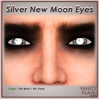Silver New Moon Eyes