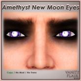 Amethyst New Moon Eyes