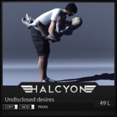 Halcyon - Undisclosed desires pose  [25L IN WORLD]