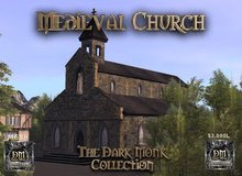 DM Mesh Medieval Stone Church