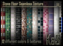 <K&S> Mosaic Seamless texture (12 different textures) Full Perm.