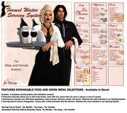 *VRD* Serving System - Formal Waiter (boxed)
