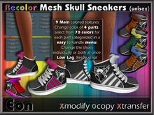 Recolor Mesh Skull Sneakers ..:: EON ::..