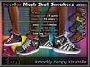 Recolor Mesh Skull Sneakers (female) ..:: EON ::..