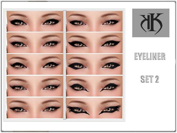 :KK:: Eyeliner Set 1 [ HALF PRICE ] ! NEW
