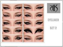 :KK:: Eyeliner Set 2 [ HALF PRICE ] ! NEW