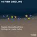 16 Flex Fish circling radius appr 5 m