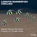 7 Flex Longfin Bannerfish circling