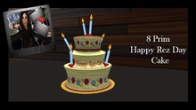 Happy Rez Day Balloon Cake