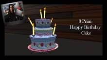 Happy Birthday Balloon Cake