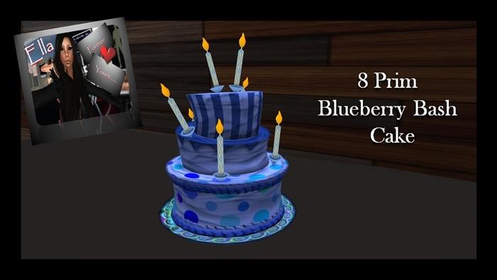 Blueberry Bash Birthday Cake