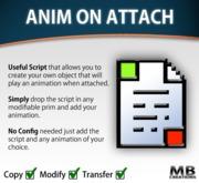 Play Animation On Attach - Script