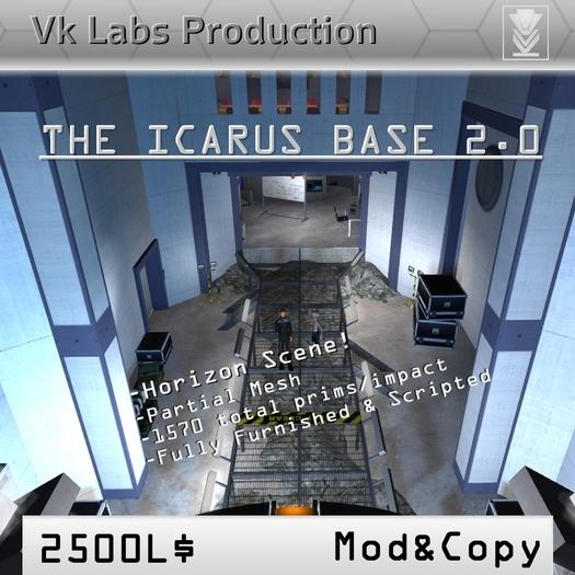 Stargate Icarus Base [ tagSciFi ]