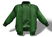 Mens Mesh Leather Jacket Green