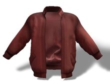 Mens Mesh Leather Jacket Red