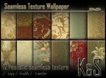 <K&S> Seamless Texture Wallpaper (12 realistic textures) Full Perm