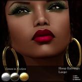 ~Soedara~ Hoop Earrings Large