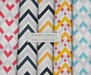 Summer Chevron ♥ { 42 full perm fabric textures - seamless & shaded }
