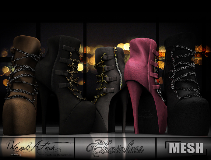 INTRO LIMITED PRICE .: CHAINLESS :.  -9 COLOR -  Mesh  Boots Full definited & scripted 1NNOVAT1ON F.D