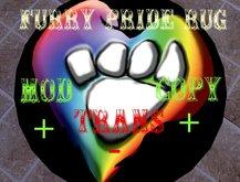 furry pride rug