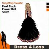 Cheapskates... Dress 4 Less - Flexi Flower Ball Gown