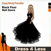 Cheapskates... Dress 4 Less - Flexi Ball Gown