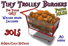 Tiny Trolley Burgers