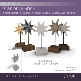 Trowix - Star on a Stick MESH Pack