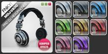 FNKY! MDJ-V800 Pro DJ Headphones (Pack)