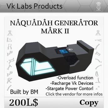 Naquadah Generator MarkII