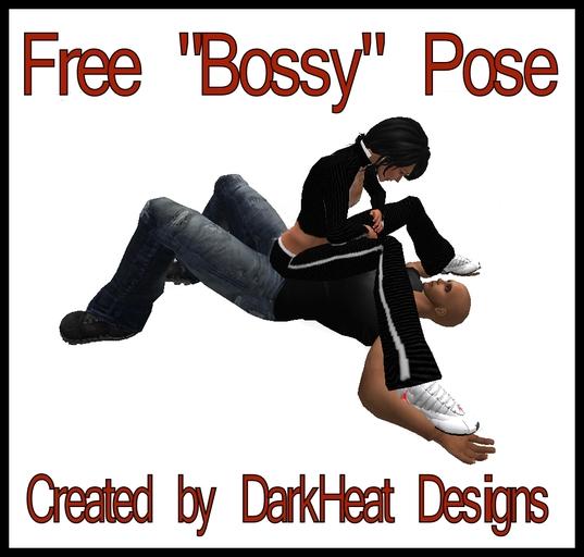 ~*~Bossy Pose Free Gift from DarkHeat Designs~*~
