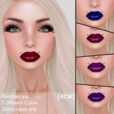 [XCW] Kissable Lips