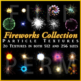 Fireworks Particle Texture Collection