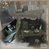 ~JD~ MTF Steampunk Workbench Set with sculpted tools